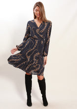 XW20206SS Chain Print Dress (Pack)