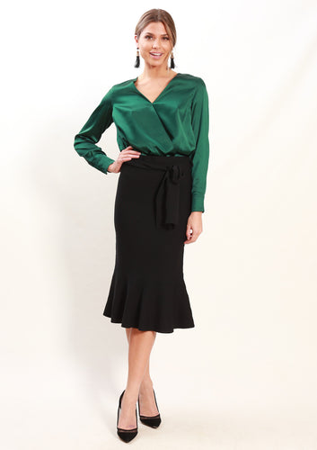 LA0068-1SS Cross Front Top (Pack) New Arrivals