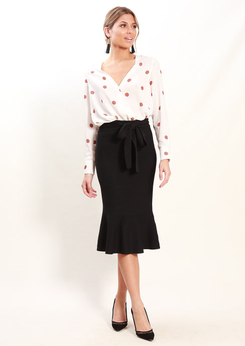 LA0068SS Polka Dot Top (Pack) New Arrivals