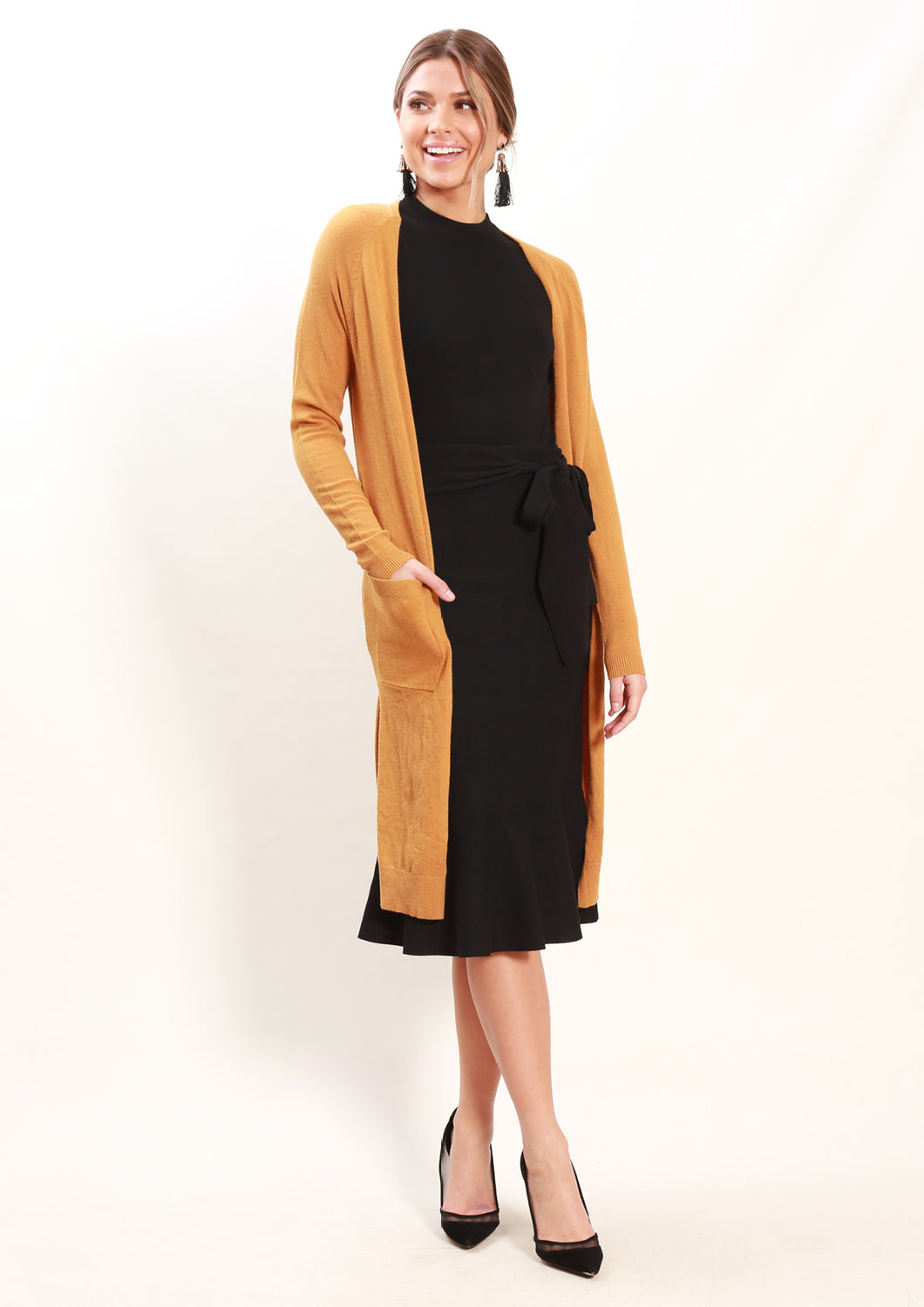 LY19190B Side Split Cardigan (Pack) New Arrivals