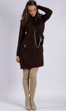 LY17292B Turtle Neck Knit Dress (Pack)