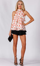 RV1129SS Blush Pink with Red Floral Top (Pack)