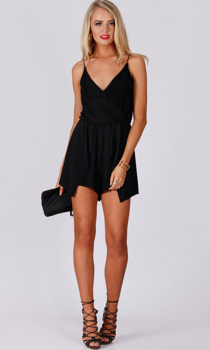 RV1198-1SS Lurex Jersey Playsuit (Pack)