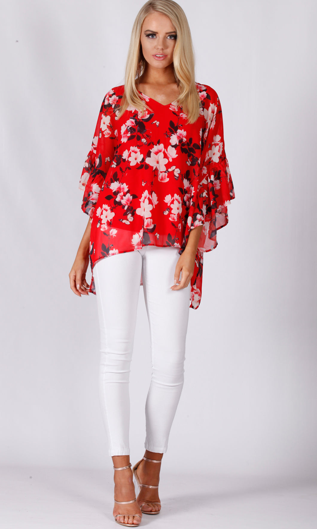 VS7167-2NC Red Blossom Top (Pack) On Sale