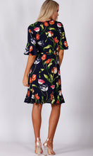HS0253-9TB Tulip Print Jersey Dress (Pack) On Sale