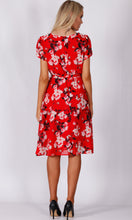 VS7302NC Red Blossom Dress (Pack)