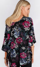 BT100214-25NC Floral Print Batwing Top (Pack)