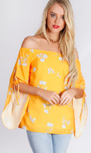 RV1045SS OFF SHOULDER YELLOW TOP (Pack) On Sale