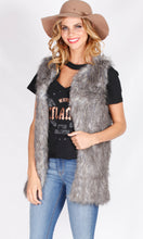 YW1900B Multi-Colour Faux Fur Vest (Pack) On Sale