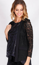 YW1701SS Black Lace Jacket (Pack)