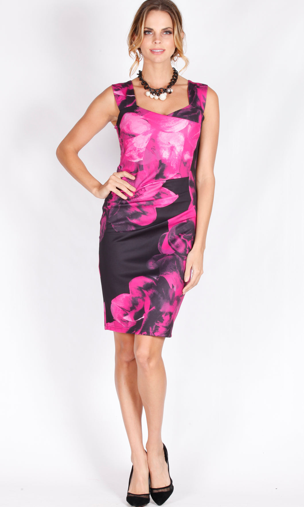 Sweetheart Body Con Dress