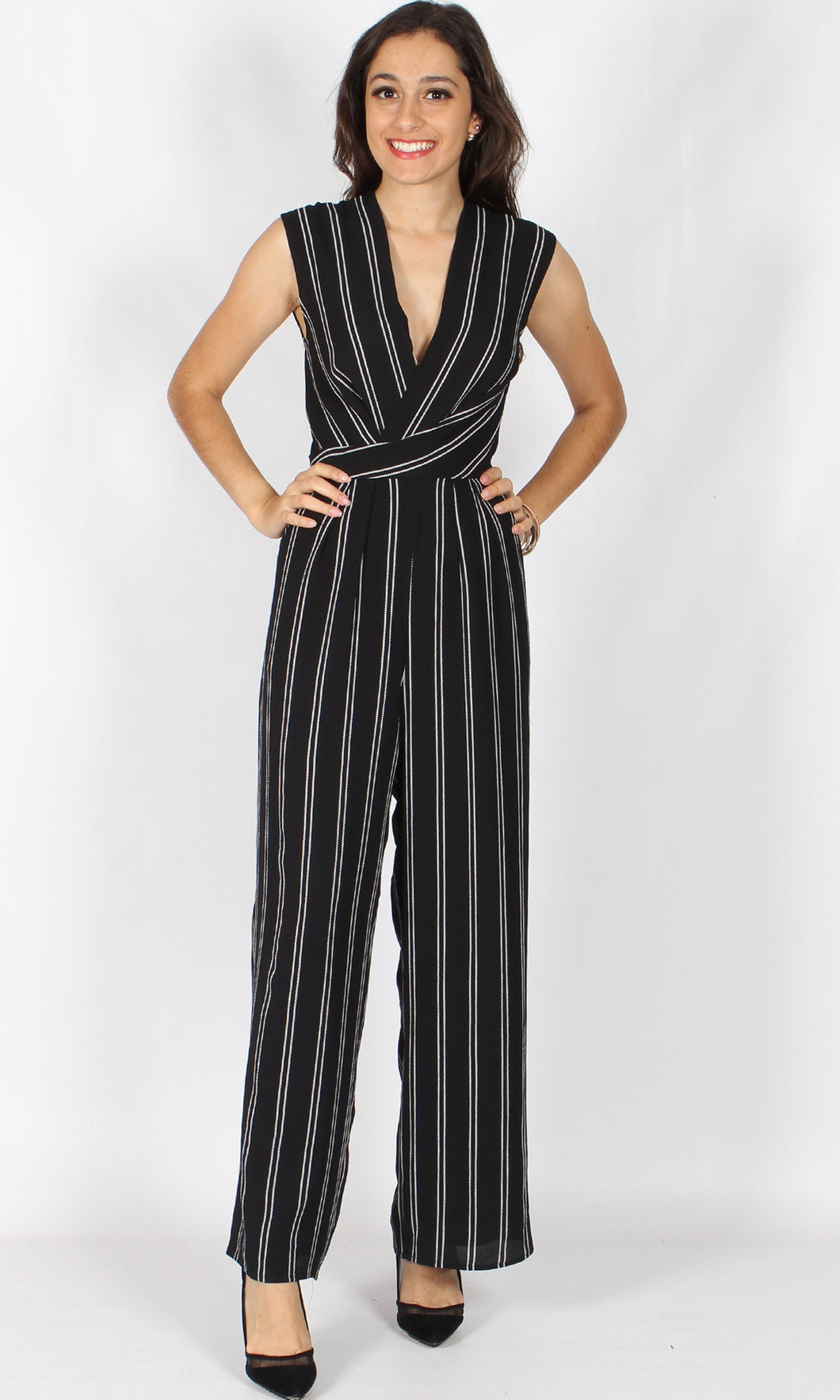 RV0886SS Wide Leg Jumpsuit (Pack)
