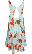 RV1047-1SS SPEARMINT MIX ORANGE FLOWER DRESS (Pack) On Sale
