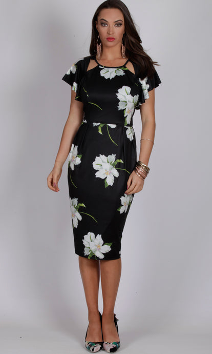 BS816021-1TB Lily Floral Dress (Pack)