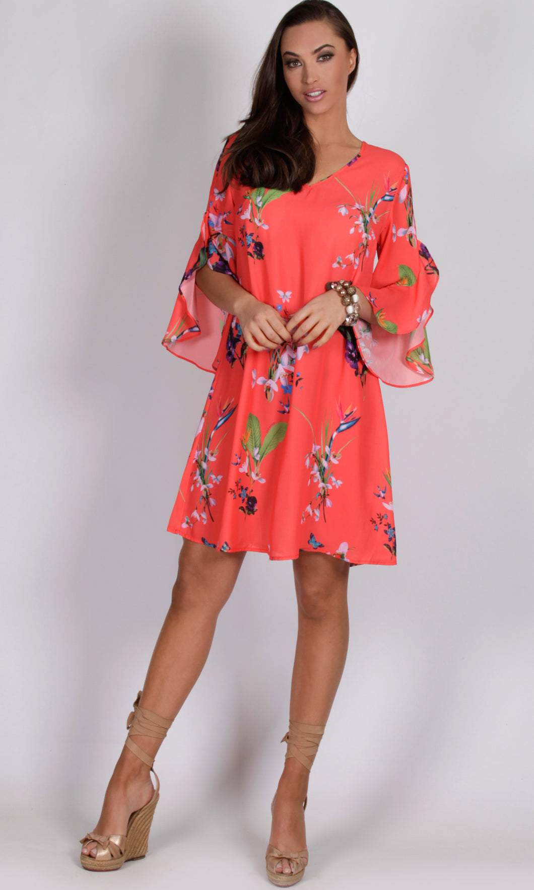 RV0998-1SS RELAXED TROPIC DRESS (Pack)