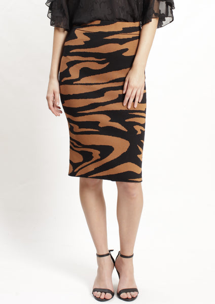 ZW005SS Tiger Print Skirt (Pack) New Arrivals