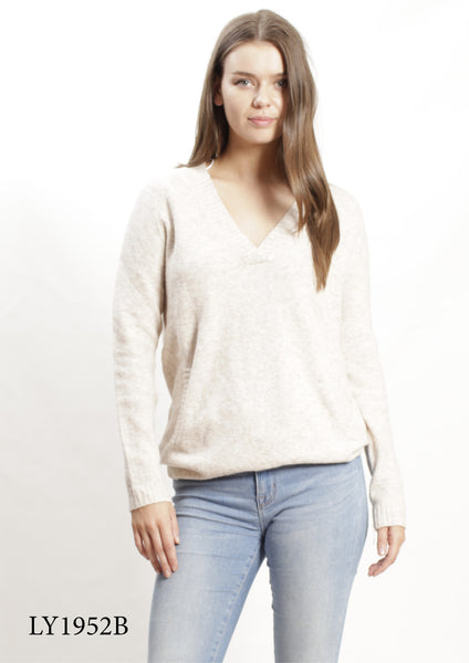 LY1952B V Neck Knit Top (Pack) New Arrivals