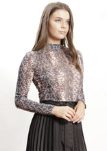 XW20203SS Snake Skin Printed Top (Pack)