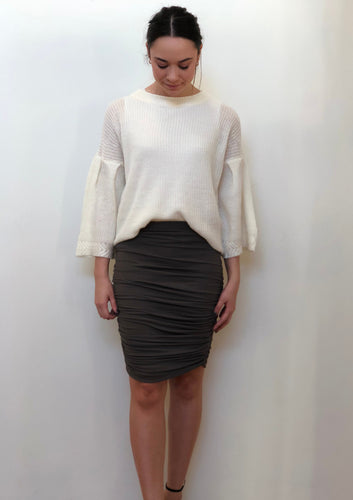 SSLP160SS Ruched Skirt (Pack)