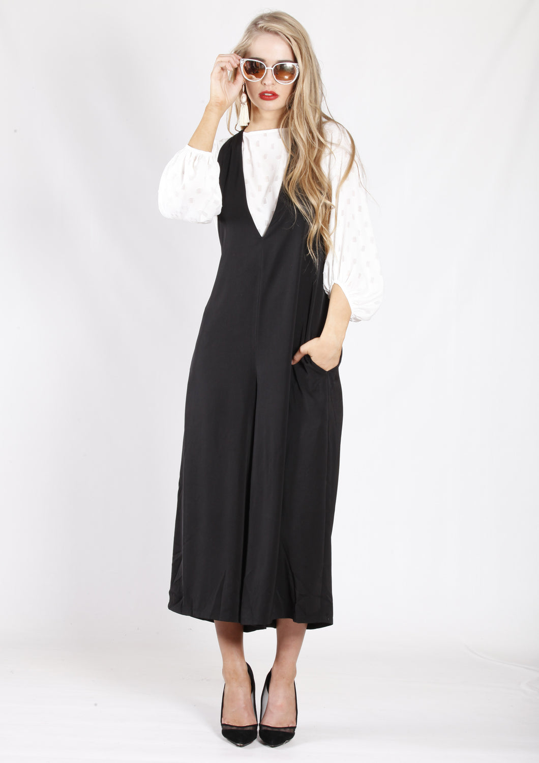 YW2117-2SS Wide Leg Dungaree (Pack) New Arrival