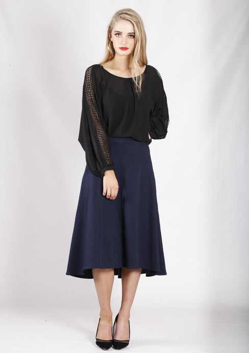 YW2072SS A-line Midi Skirt (Pack)