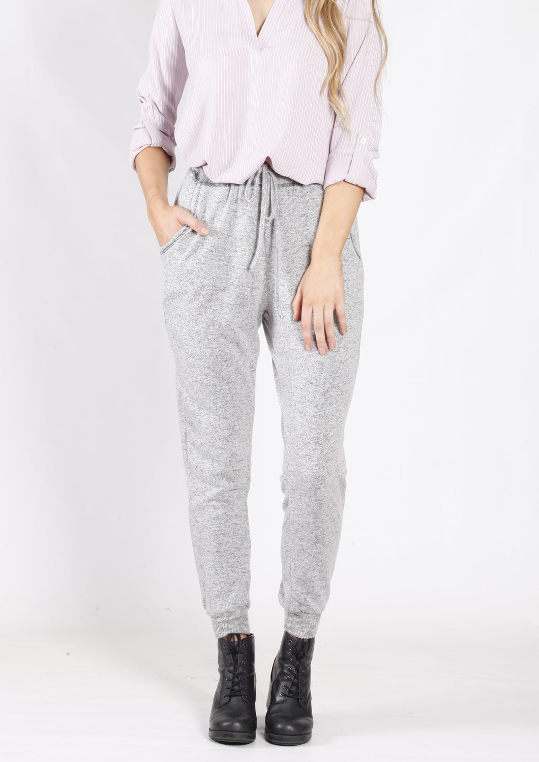 YW17118SS Basic Jogger With Tie  (Pack)