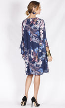 VS7350NC Floral Ruffle Sleeve Dress (Pack)