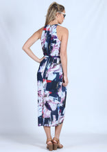 WA0195SS Abstract Printed Halter Neck Dress (Pack) New Arrival