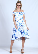 BS1016001-6TB Off Shoulder Printed Dress (Pack)