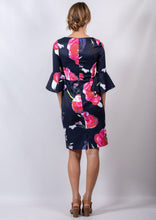 BS716039-W2TB Navy Floral Dress (Pack)