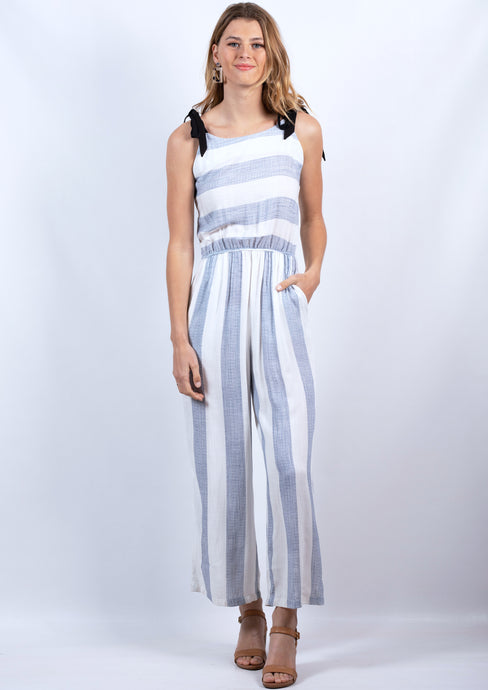 DS16A11968SS Stripe Jumpsuit (Pack) New Arrival