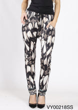 VY00218SS Printed Drop Crotch Pant (Pack)