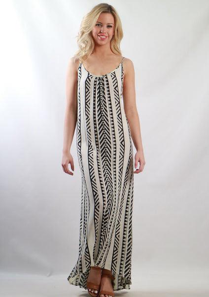YW2163-1SS Tribal Maxi Dress (Pack) New Arrival