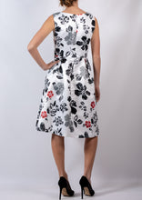 SB001TB Hibiscus Printed A-Line Dress (Pack)