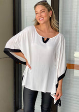 A029TB Monochrome Relaxed Top (Pack)