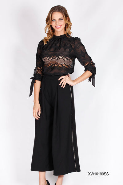 XW16199SS Lace Top (Pack) New Arrival
