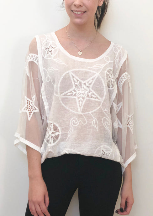 XX011SS Star Crochet Top (Pack) New Arrival