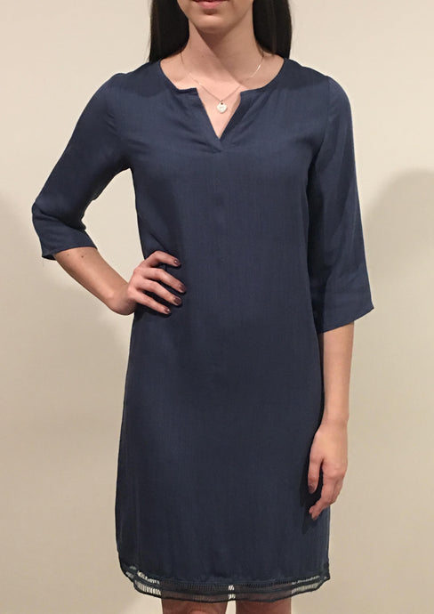 YW17139TB V Neck Tunic Dress (Pack) New Arrival