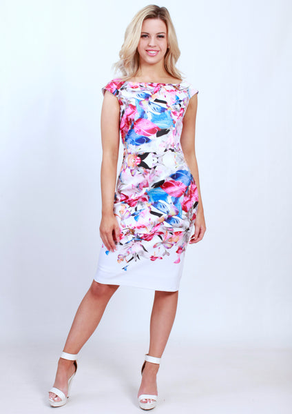 TG2421-5TB Cap Sleeve Body-Con Dress (Pack) New Arrival