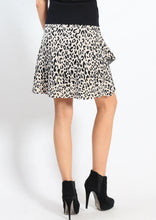 YW1813-1SS Leopard Print Layered Skirt (Pack)