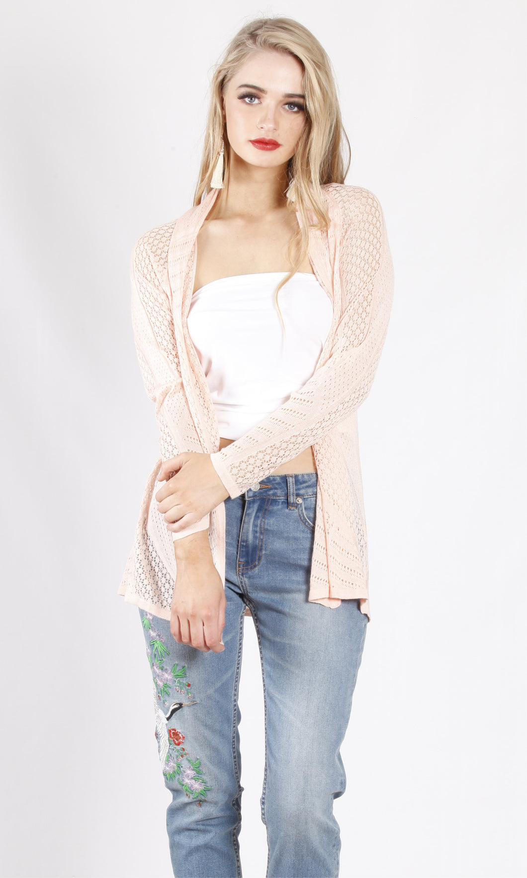 ZWL3762SS Long Sleeve Cardigan (Pack)