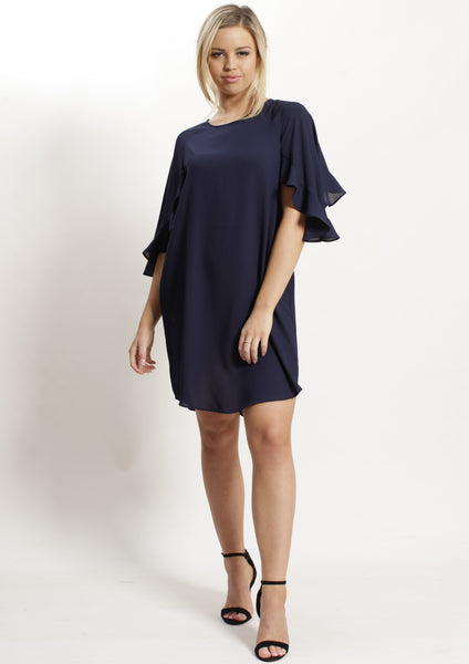 AY035NC Relaxed Fit Ruffle Sleeve (Pack)