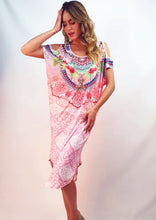 CH1070-63SS Tropical Print Dress  (Pack) New Arrivals