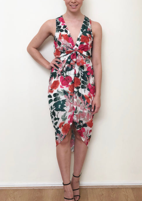XW16257SS Floral Pop Dress (Pack) New Arrival