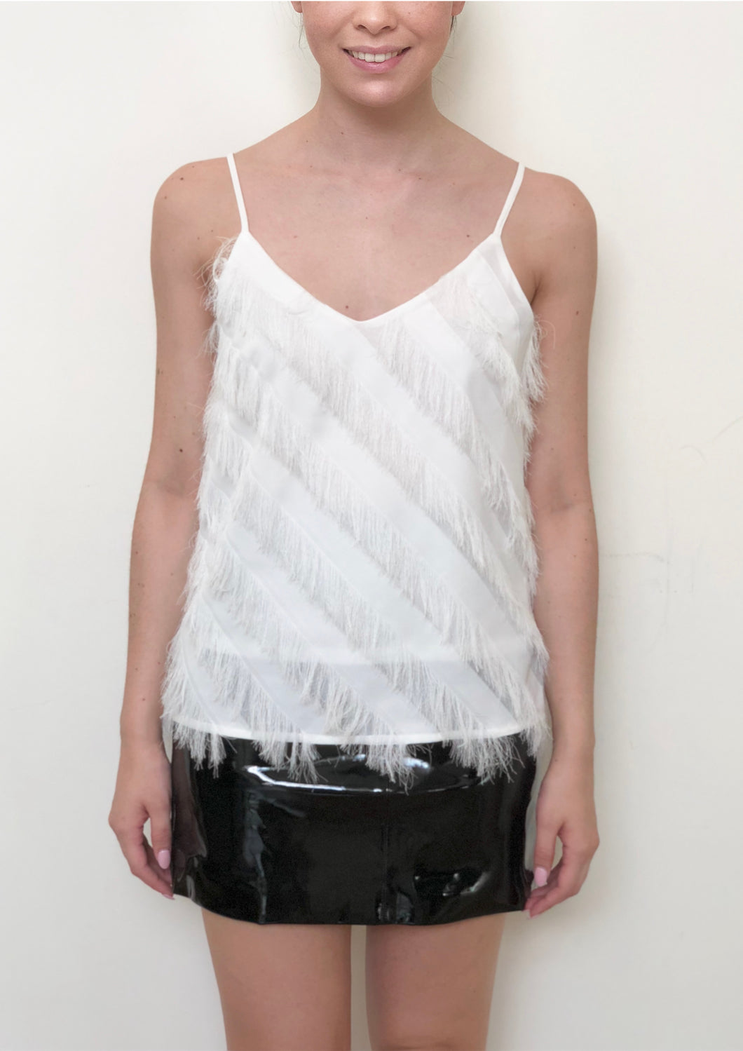 SP006SS Fringed Cami (Pack)