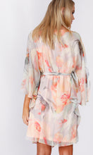 VS7234TB APRICOT FLORAL DRESS / TUNIC (Pack)