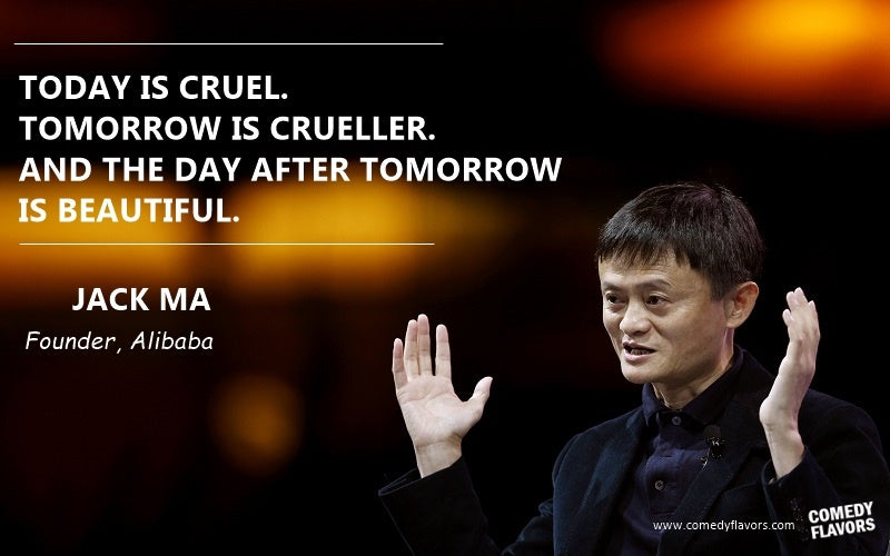 How to overcome failure according to Jack (Founder of Alibaba)
