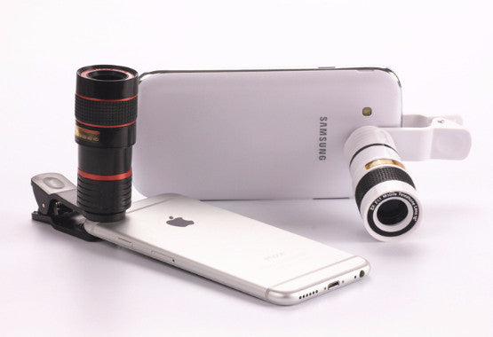 AMAZING 8X ZOOM OPTICAL CELL PHONE CAMERA LENS