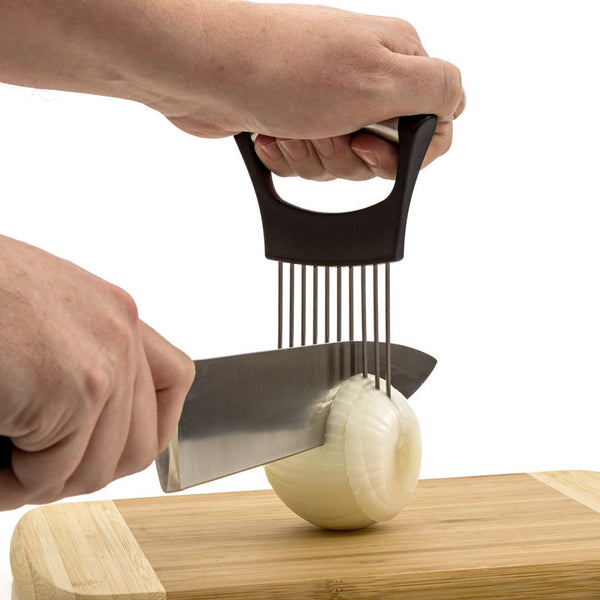 Easy Onion Holder Slicer