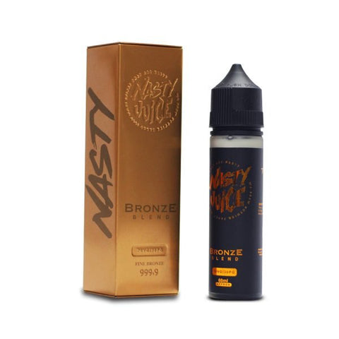 BRONZE BLEND ELIQUID BY NASTY JUICE